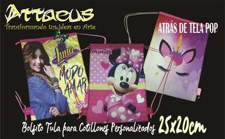 Cotillones Tula Carterita Piñata +oferta 25x20 Lol Minnie