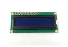 Display Lcd 16x02 1602 Backlight Azul Pic Atmel Arduino