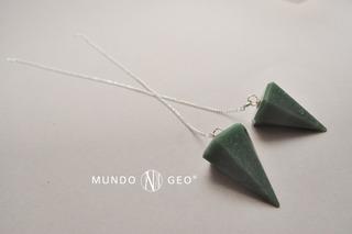 Piedra Péndulo De Cuarzo Verde