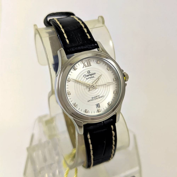 Relógio Feminino Champion Ca28814q Pulseira Couro 27mm