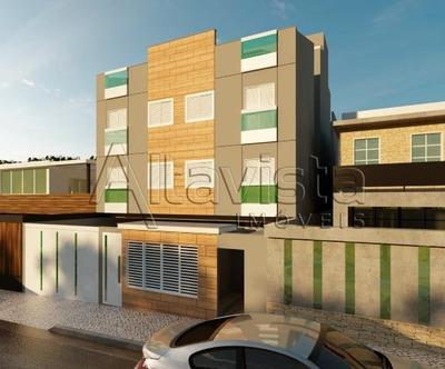 Cobertura Com 2 Dormitórios À Venda, 92 M² Por R$ 280.000 - Vila Pires - Santo André/sp - Co0741
