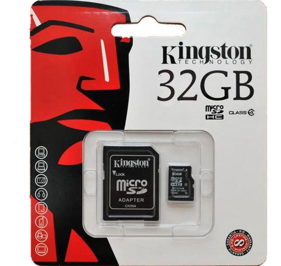 Cartão De Memoria 32 Gb Microsd Microsdhc Kingston - Jl-05
