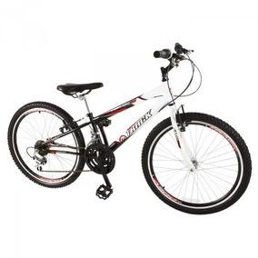Bicicleta Axess Aro 24 18 Marchas Branco/preto Track & Bikes