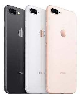 Celular iPhone 8 Plus 64gb De Vitrine Exelente+desbloq Origi