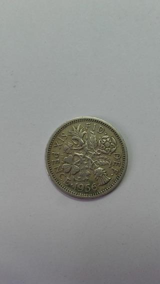 Moneda Reino Unido One Shilling 1962
