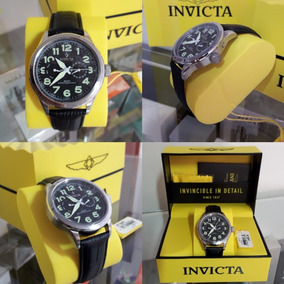 Relogio Invicta Vintage Mod.11741 Leather Original Completo