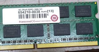 Memoria Ram Ddr3 4gb 2rx8 Para Laptop