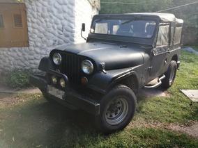 Jeep Cj5 4x4 Chasis Largo