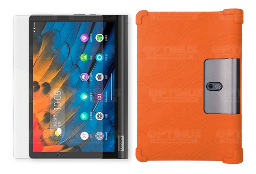 Kit Vidrio Y Estuche Tablet Lenovo Yoga Smart Tab Yt-x 705f