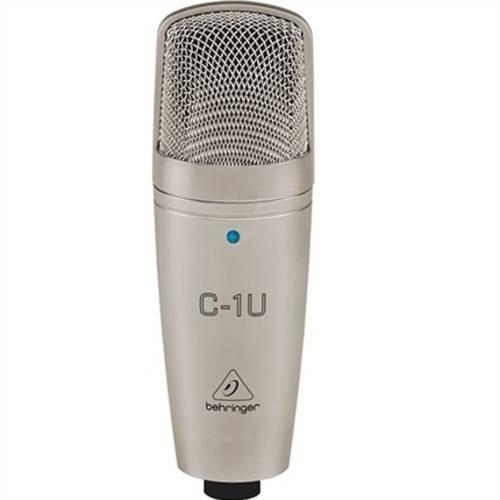 Microfone Profissional Condensador C1u Behringer - Loja