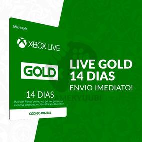 Xbox Live Gold 14 Dias - 25 Dígitos - Envio Imediato!