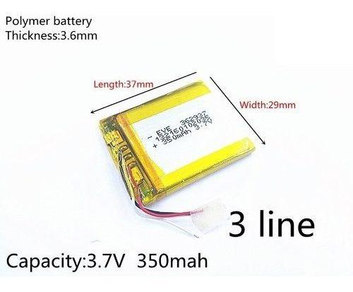Bateria Gopro Hero Wi-fi Controle Remoto 3,7v 350mah