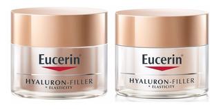 Eucerin Combo Elasticity Filler Crema Dia + Noche X 50ml C/u