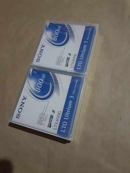 Fita Lto 800gb Ultrium 3 Sony Ltx400g - Lacrado