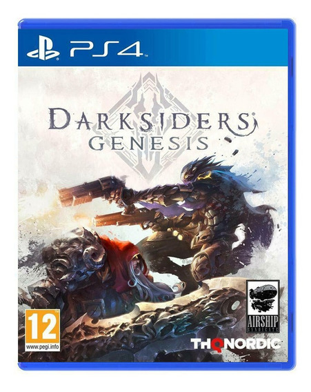 Darksiders Genesis - Ps4 - Mídia Física Lacrado