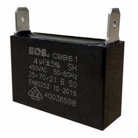 Capacitor 4uf 450vac Cbb61 P/ Ar Condicionado E Uso Geral