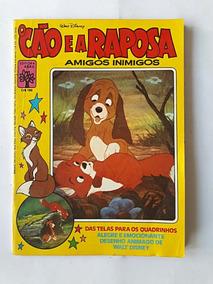 O Cão E A Raposa 1982 Amigos Inimigos Gibi - Frete Grátis