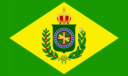 Bandeira Imperio Do Brasil 150x90 Cm Alta Qualidade