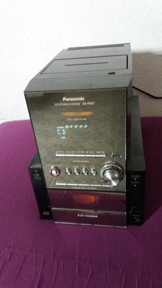 Micro System Panasonic Sa Pm 27 Cd Não Funciona