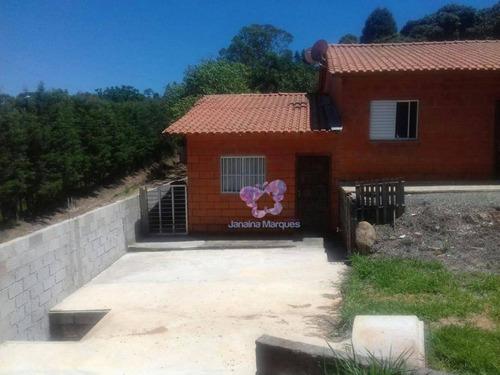 Chácara Com 2 Dormitórios À Venda, 3400 M² Por R$ 450.000,00 - Meirelles - Araçariguama/sp - Ch0073