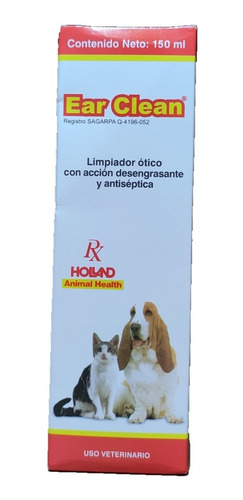 Ear Clean Holland 150 Ml Limpiador Ótico