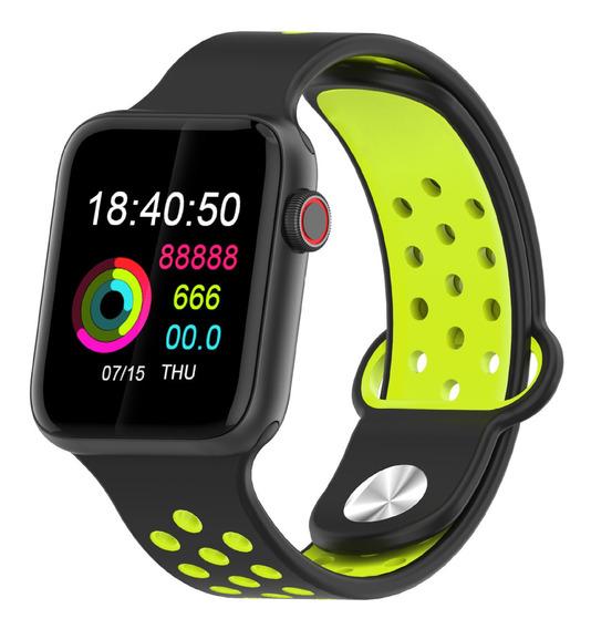 Relógio Inteligente M33 Full Touch Verde Escuro