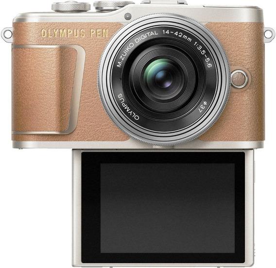 Câmera Olympus Pen E-pl9 14-42mm Estojo Memória 16gb