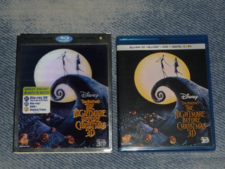 The Nightmare Before Christmas Blu-ray 3d. Cover Lenticular!