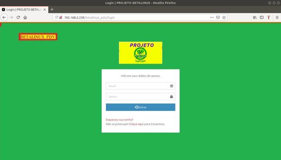Betalinux_pdv - Software De Frente De Loja E Retaguarda