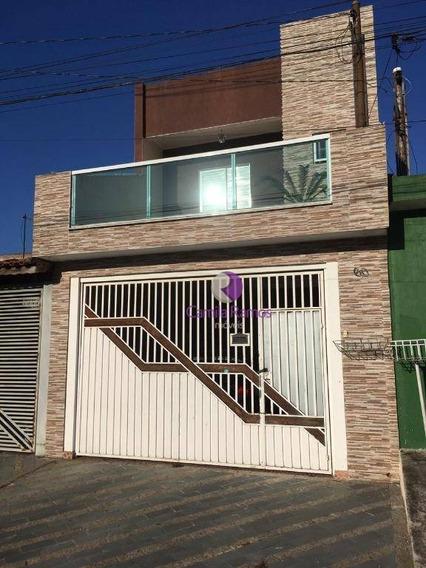 Sobrado Com 3 Dormitórios À Venda - Vila Amélia - Poá/sp - So0393