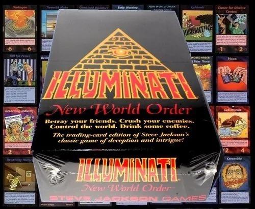 Jogo De Cartas Illuminati N.w.o Traduzido Para Português!