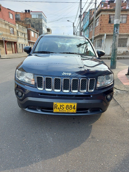 Jeep Compass Modelo 2011, Color Azul, Mecánica Y Automática
