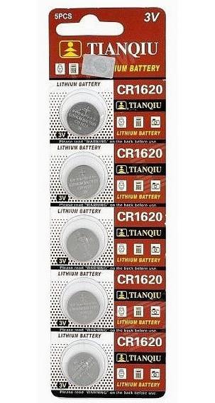 5 Pilas Baterias Cr1620 3v Litio Cpu Relojes Calculadora