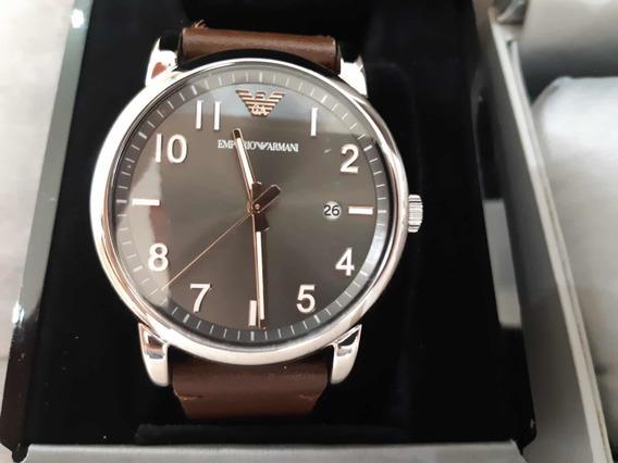 Relógio Empório Armani Luigi Prata Modelo Ar11175
