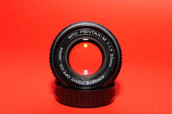Lente Pentax K 50mm F1.7