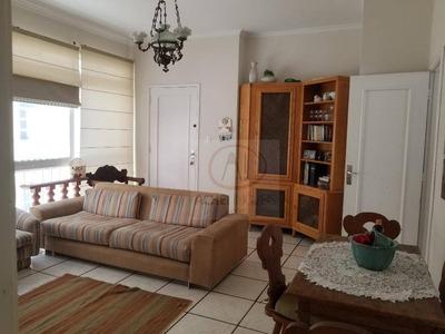 Apartamento Com 3 Dormitórios, 1 Suite, 1 Vaga, À Venda, 123 M² Por R$ 595.000 - Gonzaga - Santos/sp - Pacote R$ 3.300 (com Ou Sem Mobilia) - Ap8438