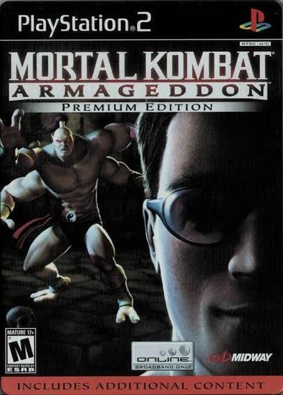 Mortal Kombat Armageddon Mídia Digital Ps2