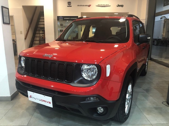 Jeep Renegade At6 My20 U$13.900. Contado Efectivo