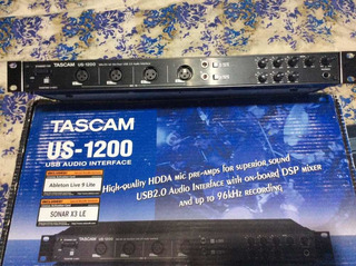 Interfaz De Audio Usb Tascam Us 1200