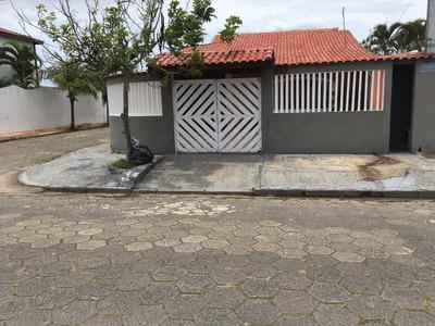 Casa Itanhaém A 200m Da Praia, 4 Quartos,3 Banh., Garagem