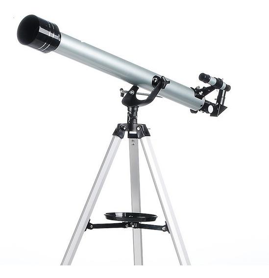 Telescopio Astronomico Refrator 675x 90060 Tripe + 3 Lentes