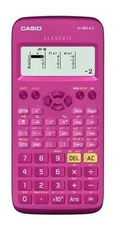 Calculadora Científica 274 Funções Fx-82lax-pk Rosa Casio