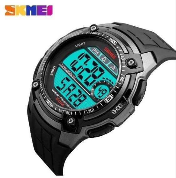 Relógio Digital Skmei Tawurs Preto Masculino Prova D