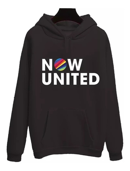Blusa Moletom Canguru Now United Super Barato