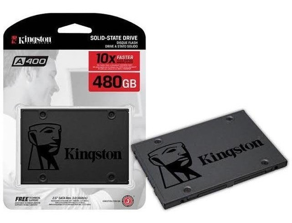 Hd Ssd Kingston 480gb Novo Lacrado