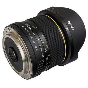 Lente Opteka Fisheye 6.5mm P/ Canon