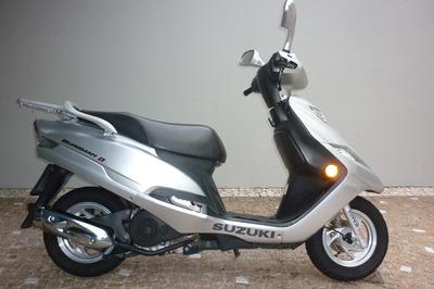 Suzuki Burgman 125 - Roda Brasil - Campinas