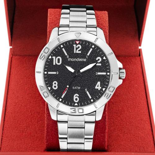 Relógio Masculino Mondaine Prata 99250g0mvne1