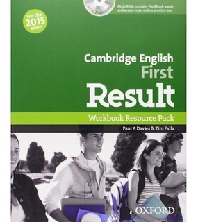 Cambridge English First Result - Workbook - Oxford