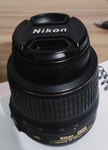 Lente Nikon 18-55mm( Já Foi Vendida,deu Um Bug Aq).